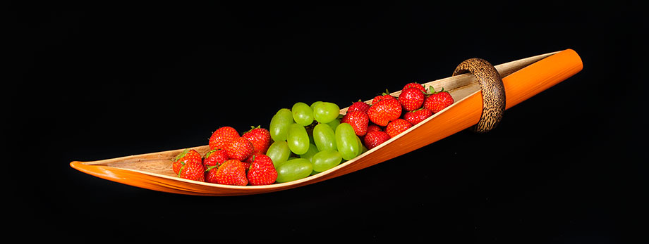jurema-creations-coconut-boat-art-fruit